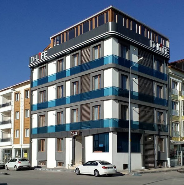 Sivas D-Life Eşyalı Stüdyo Daireler